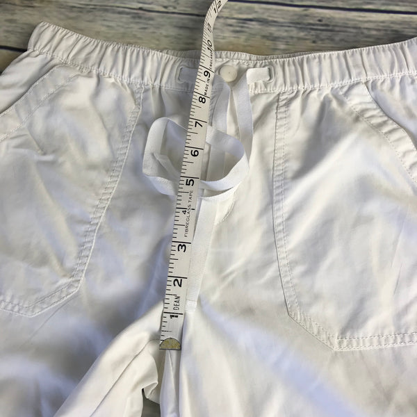 4pcs Womens Outfit Lot Casual, Old Navy Top Small, White Capris Size Small - AG18
