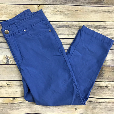 Tradition Womens Cropped pants Size 4 Blue - PP10