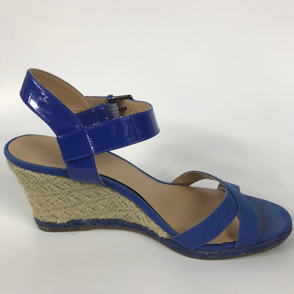 9 & Co Womens Shoes Blue Wedges Size 9M - EE3