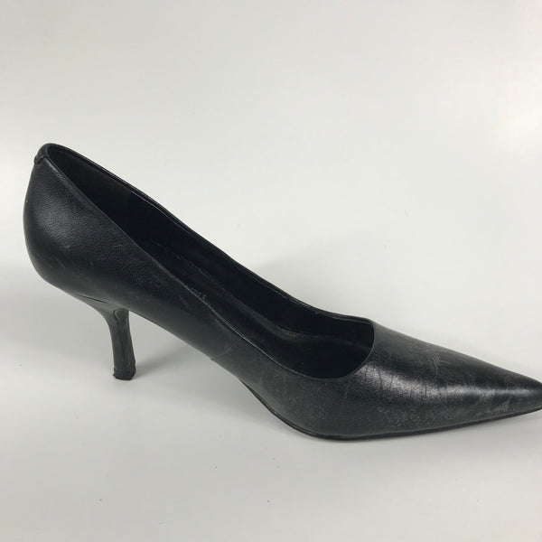 Roberto Vianni Womens Shoes Black Heels Size 7M - EE14