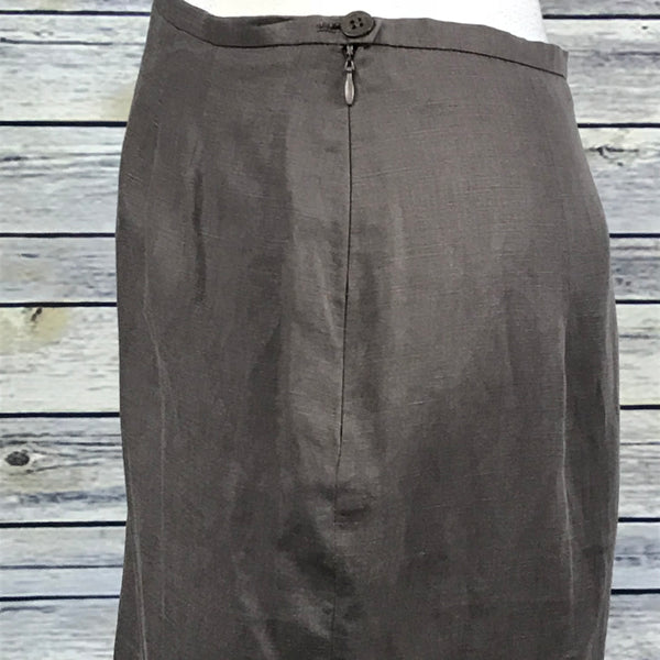 Max Mara Brown Womens Pencil Skirt size 12 Fully lined - NN14