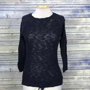 Joe Fresh Womens Lose Knit Sweater Long Sleeve Size XS QQ13