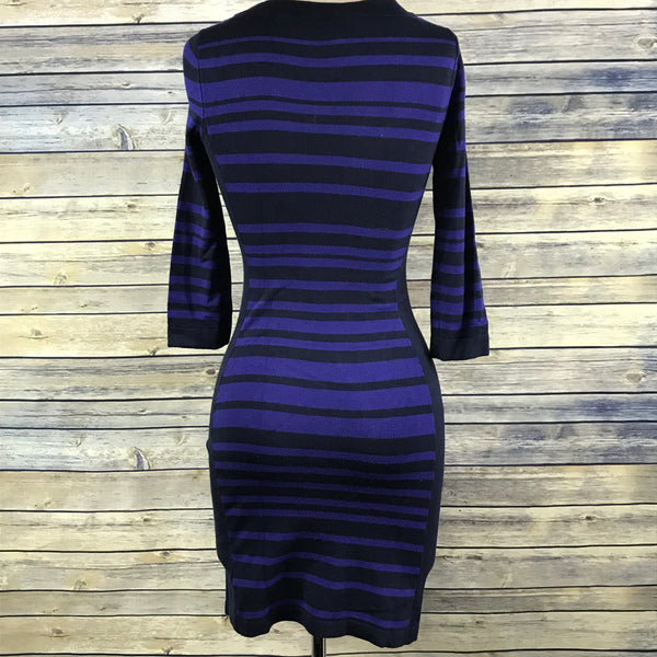 Jacob Womens Clothing Sweater Dress Blue stripes Size XS RR23