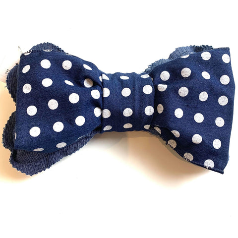 Polka Dot Dog Bone Squeaky Toy
