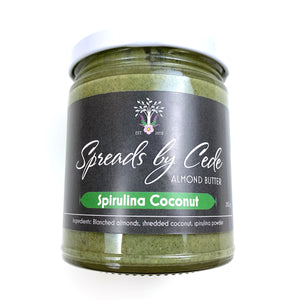 Spirulina Coconut Almond Butter