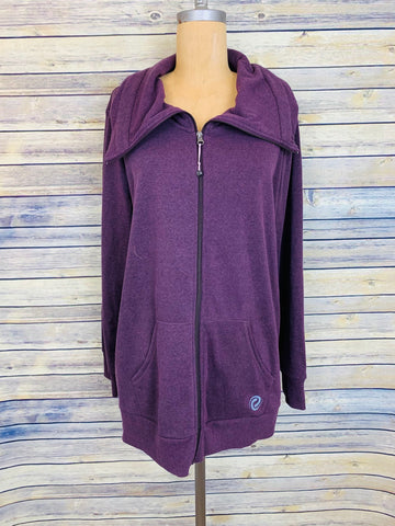 Large-XL purple sweater
