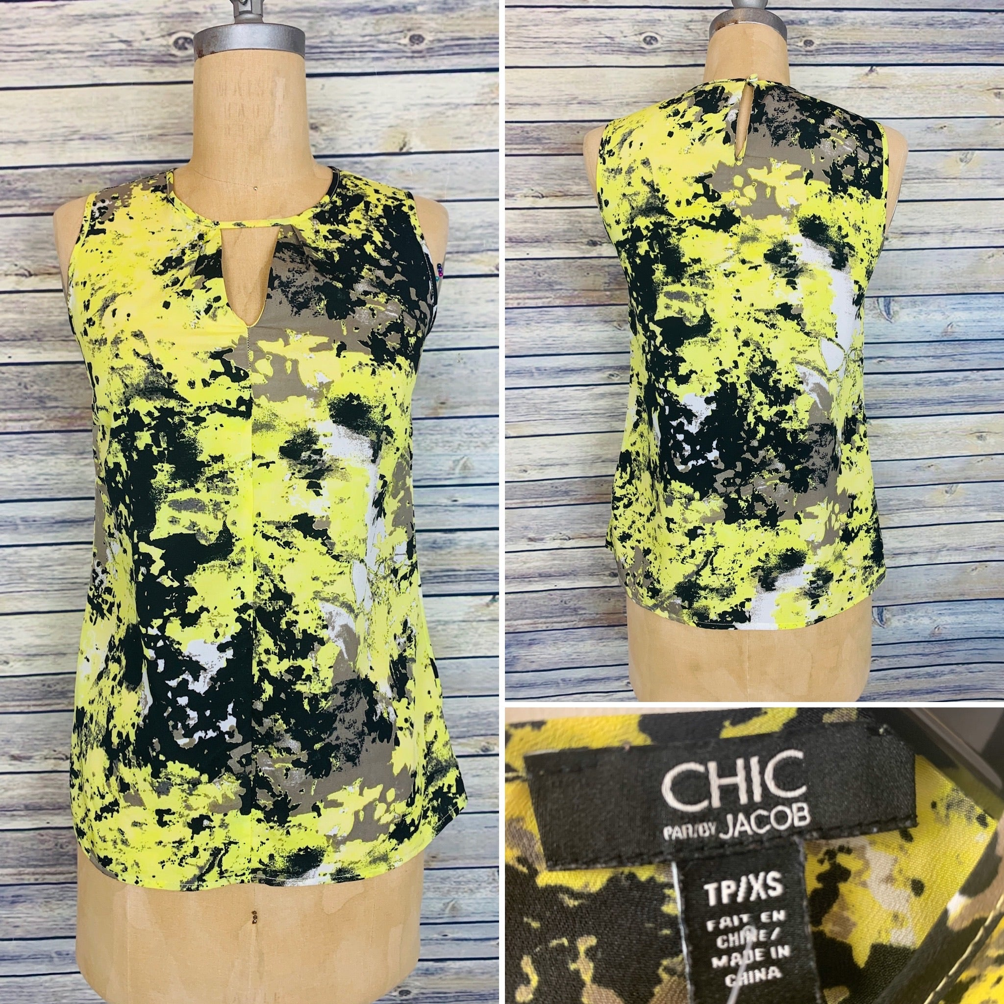 Chic by Jacob Top Size XS