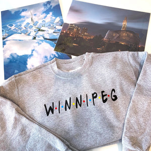 Winnipeg Friends Unisex Sweater