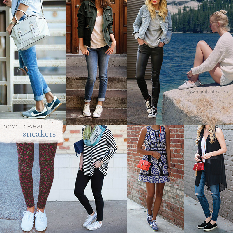 How to Wear: Sneakers