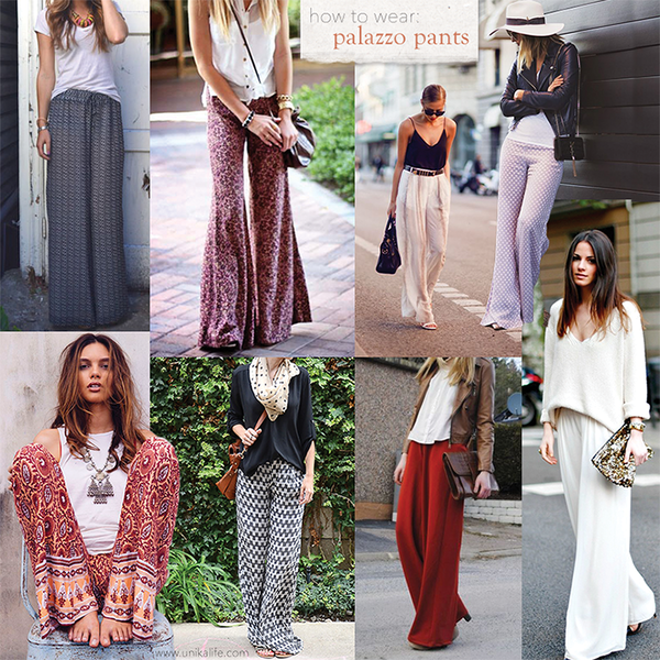 d7bc000312 How to Wear  Palazzo Pants – unikalife