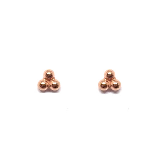 Kisa Studs - Rose Gold