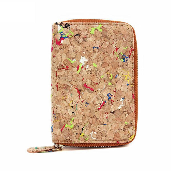 Cork Speckled Wallet