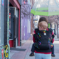 Kinderpack Infant Carrier - Rainbolt (Koolnit Mesh)