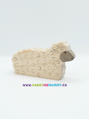 Holztiger Wooden Toys - Sheep Laying
