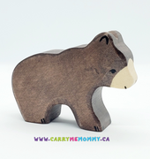 Holztiger Wooden Toys - Brown Bear, small
