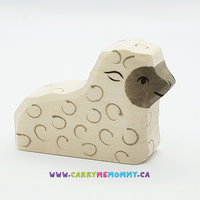 Holztiger Wooden Toys - Lamb Laying