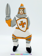 Holztiger Wooden Toys - White Tournament Knight (without horse)