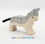 Holztiger Wooden Toys - Cat Small Grey