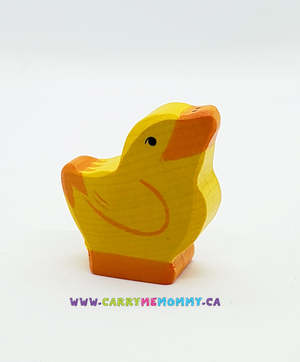 Holztiger Wooden Toys - Chick Head Raised