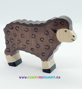 Holztiger Wooden Toys - Sheep Standing Black