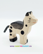 Holztiger Wooden Toys - Cat Small Black & White