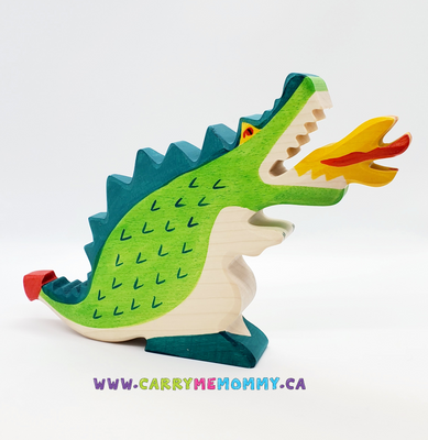 Holztiger Wooden Toys - Green Dragon