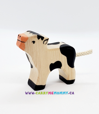 Holztiger Wooden Toys - Calf Black