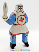 Holztiger Wooden Toys - Blue Tournament Knight (without horse)