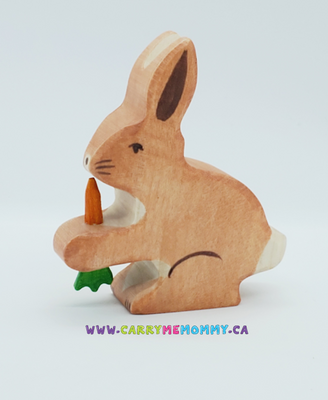 Holztiger Wooden Toys - Hare with Carrot