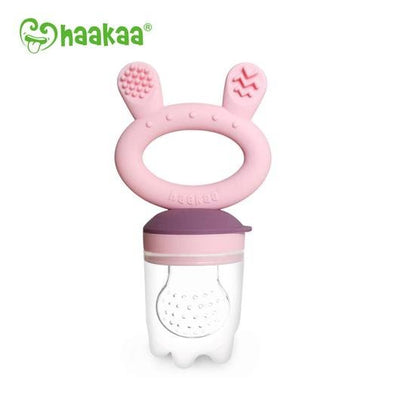 Haakaa Fresh Food Feeder & Teether - Pink