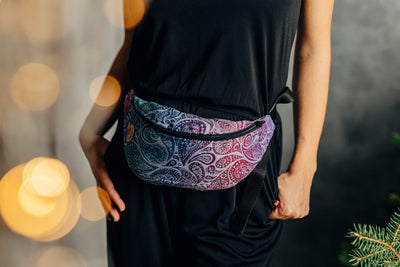 LennyLamb Waist Bag - Paisley Kingdom *Special Edition Winter Collection*