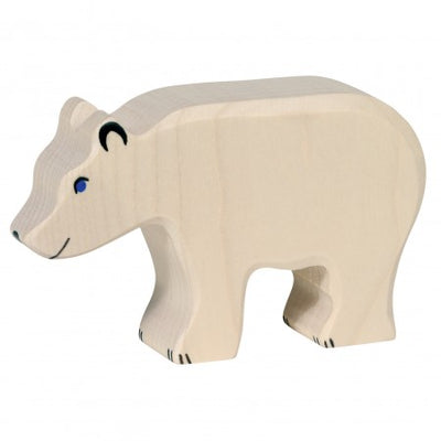 Holztiger Wooden Toys - Polar Bear Feeding