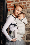 LennyLamb Ergonomic Carrier (Toddler) - Crystal Lace