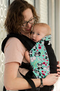 Kinderpack Preschool Carrier - Pandamonium (Koolnit Mesh)