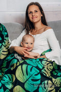 LennyLamb Maxi Swaddle Wrap - Monstera