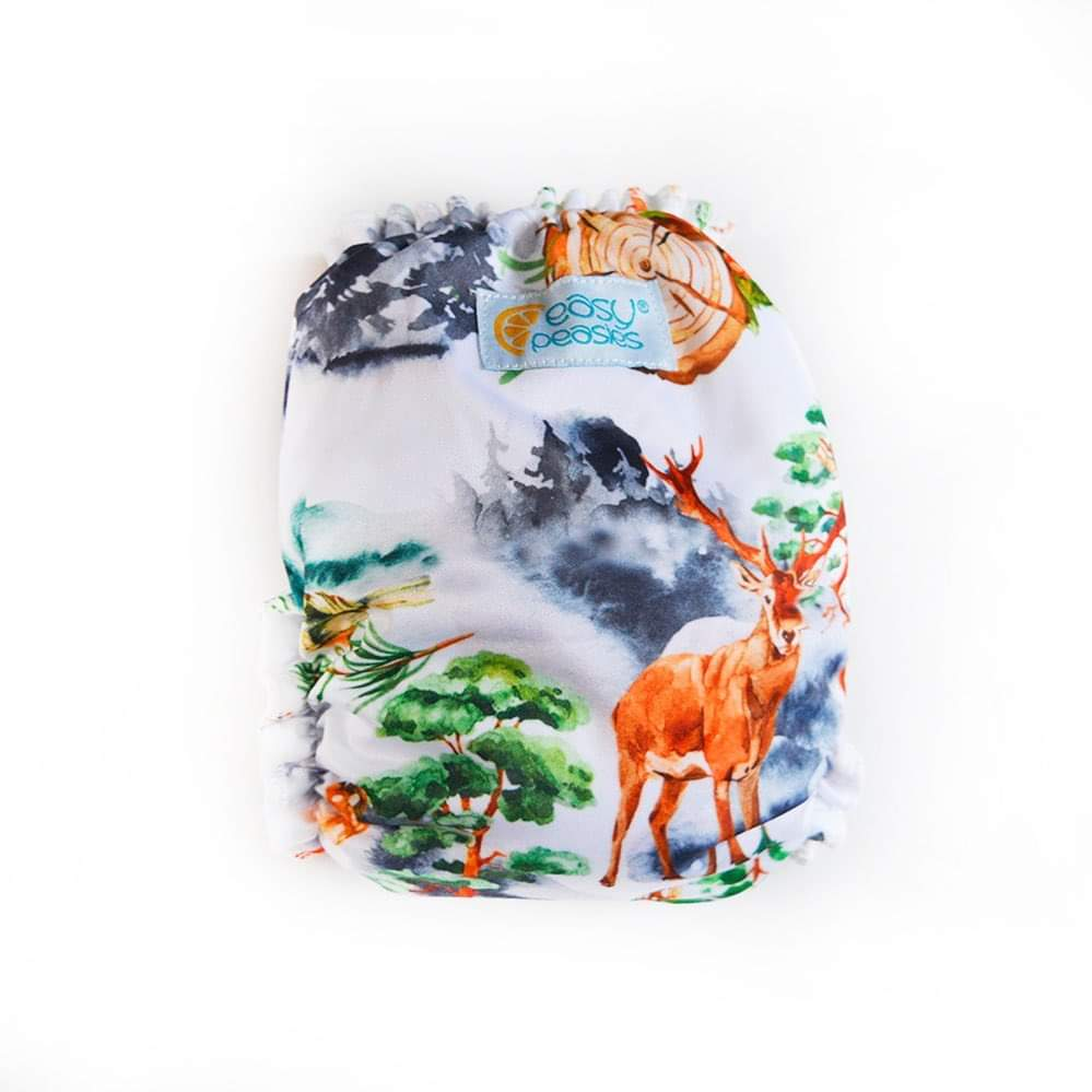 Easy Peasies One Size Pocket Diaper - Into the Mist
