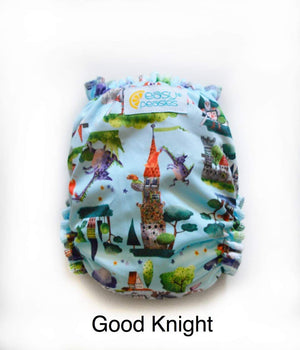 Easy Peasies One Size Pocket Diaper - Good Knight