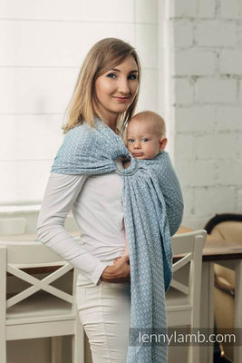 LennyLamb Ring Sling - Basic Line Sky Blue