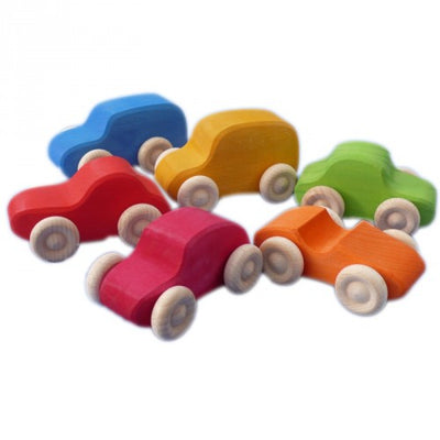 Grimms  - Multi Coloured Vehicles (6pc)