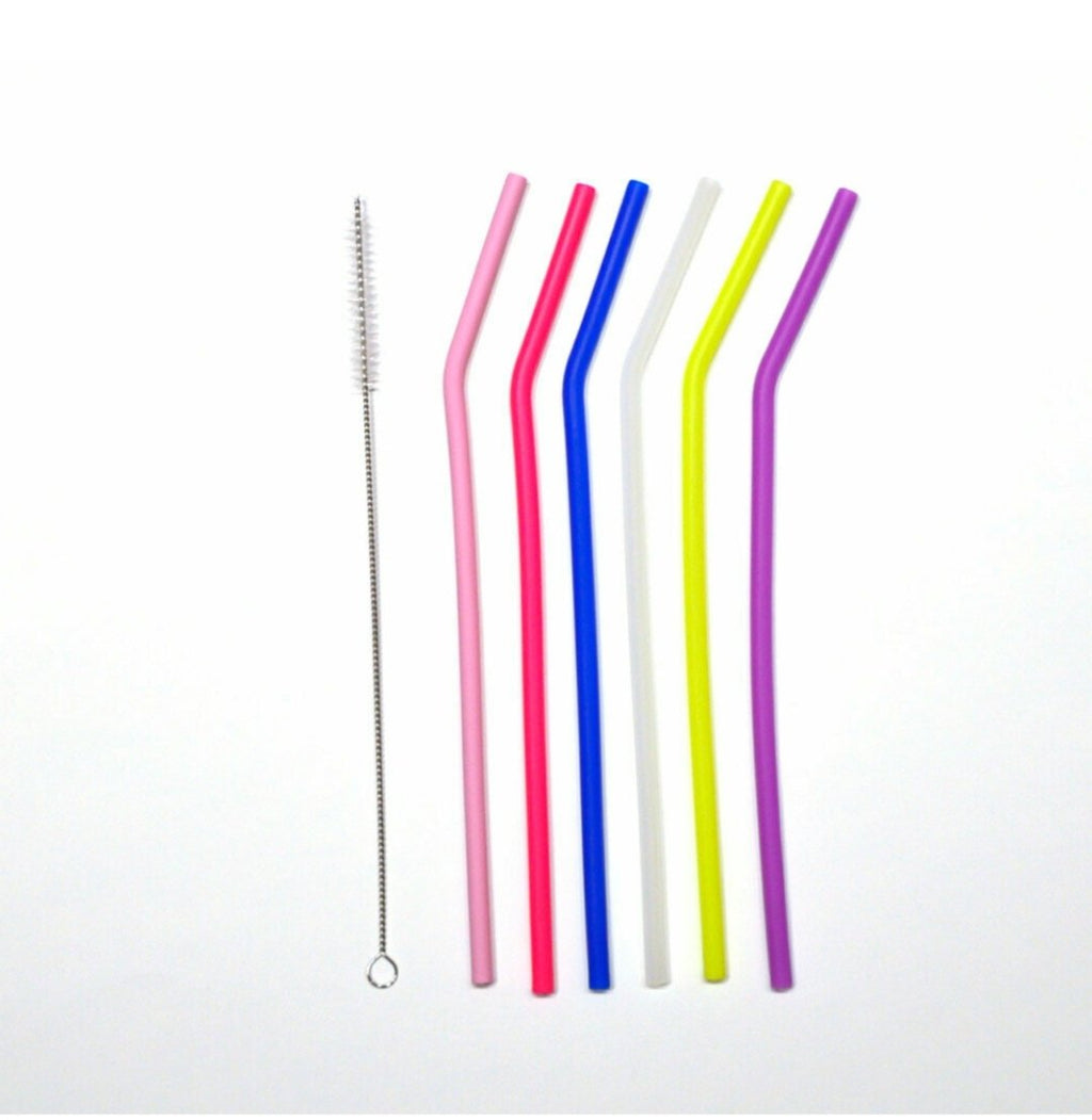 Simply Good - Silicon Straws (6 pack)