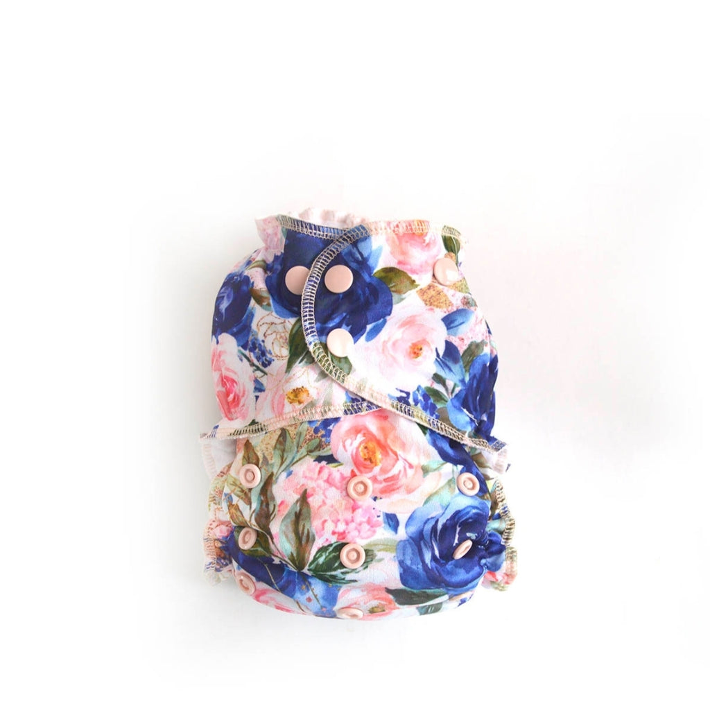 Easy Peasies One Size Pocket Diaper - Bloom