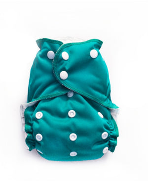 Easy Peasies One Size Pocket Diaper - Jade