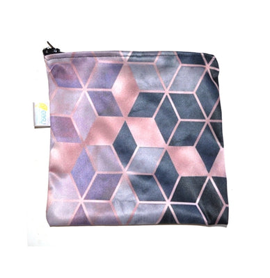 Easy Peasies Sandwich/Snack Bag - Pink Squared