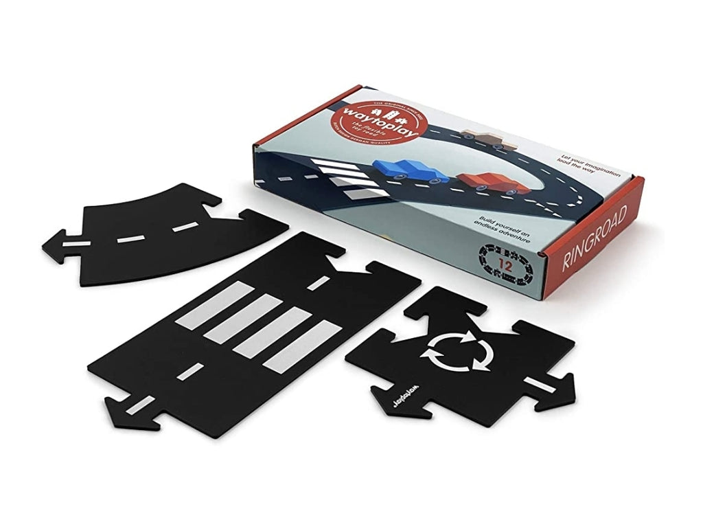 WayToPlay Flexible Roadways - Ringroad (12pc)