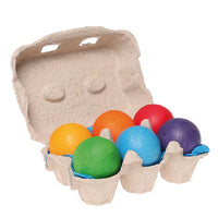 Grimm's  - Wooden Balls Rainbow (6pc)