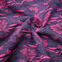 Yaro Ring Sling - Iris Duo Black Purple Pink