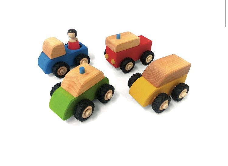 Bauspiel - Small Vehicles (5pc)