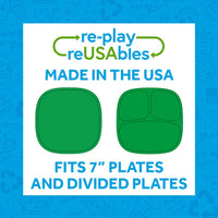 "Re-Play Silicone Lid for 7"" Flat & Divided Plates"
