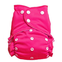 Easy Peasies One Size Pocket Diaper - Raspberry
