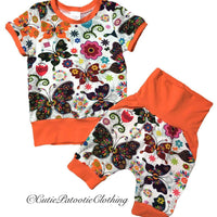 Cutie Patootie Clothing Co. - Grow T-shirt & Shorts Set (3T-6)